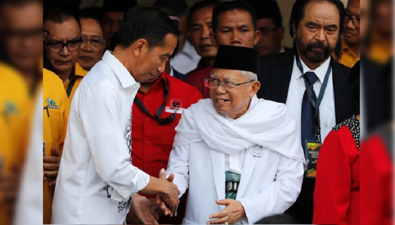 Jokowi-Amin Unggul di TPS Pademangan Timur