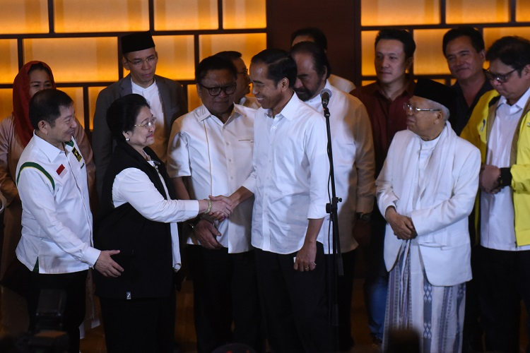 Pemilu 2019, PDI Perjuangan Terkuat Partai Baru Keok