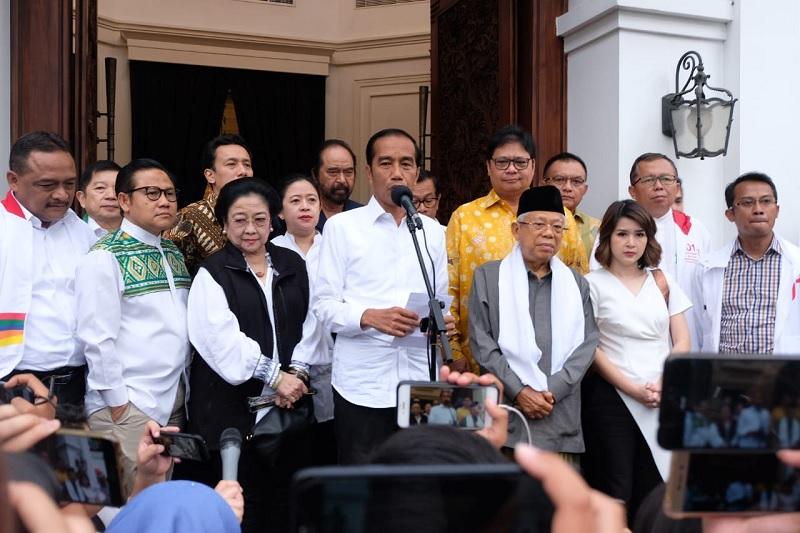 01 Klaim Menang, Jokowi: Hasil Quick Count Akurat dengan KPU