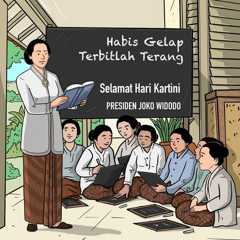 Jokowi Ajak Terus Gelorakan Semangat Juang Ibu Kartini