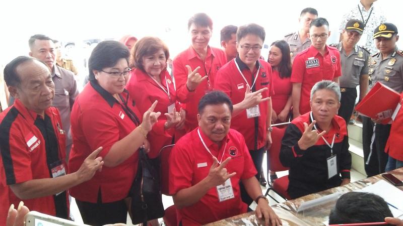 PDI Perjuangan Sukses Tambah Kursi di DPRD Manado
