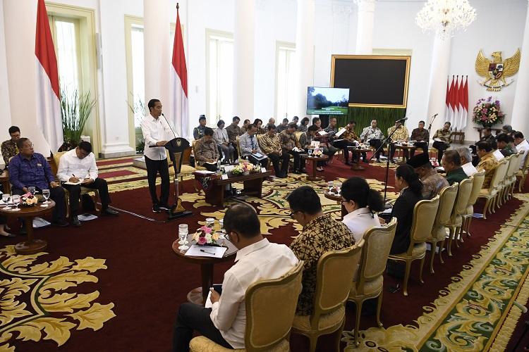 Presiden Minta Menkeu Alihkan Anggaran ke Kementerian PUPR