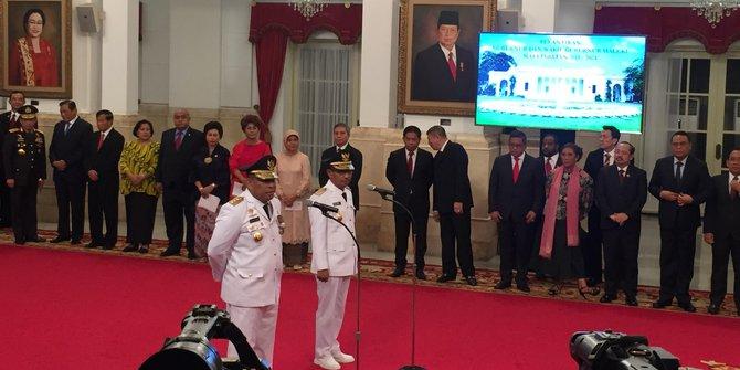 Sah, Murad Ismail Jadi Gubernur Maluku