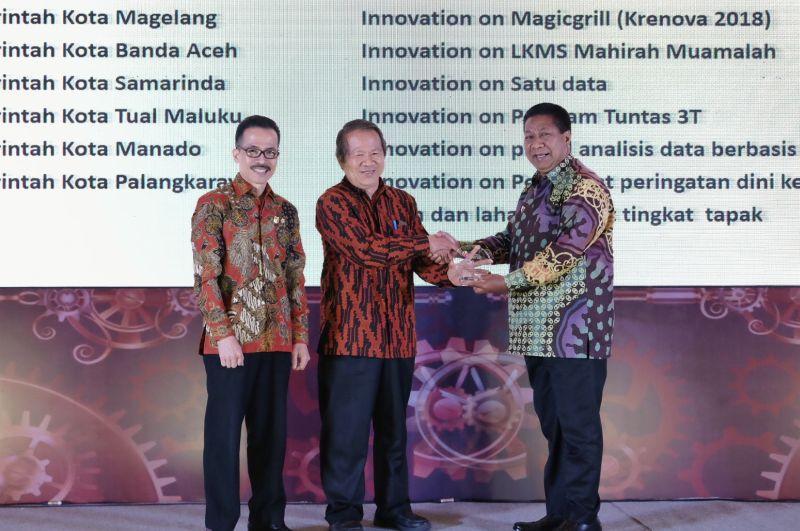 Pemkot Magelang Raih Indonesia Innovation Award 2019