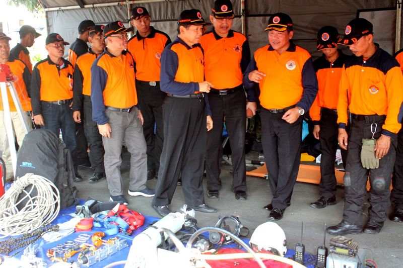 Mundjirin Ajak Masyarakat Latih Insting Siaga Bencana