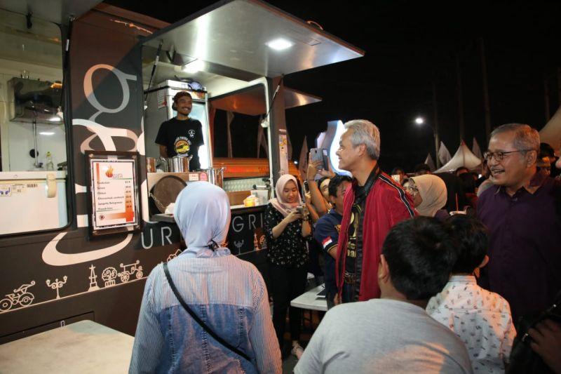 Buka Festival Kuliner, Ganjar: Sajiannya Sangat Menarik