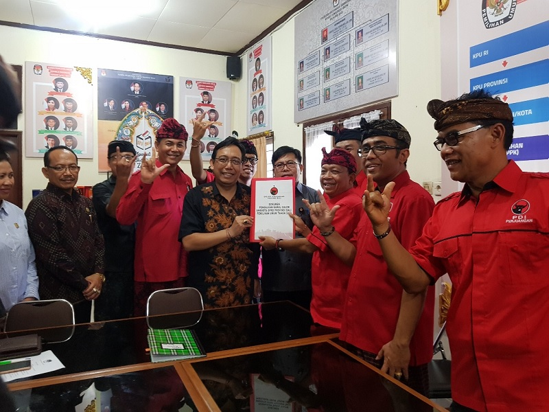 PDI Perjuangan Akan Sapu Bersih Alat Kelengkapan DPRD Bali