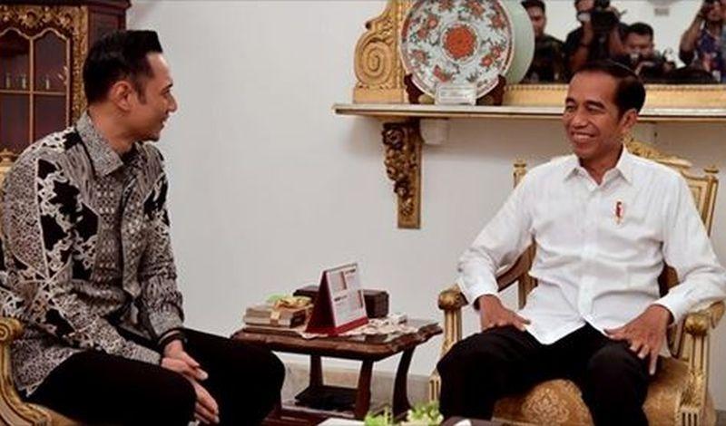 Pertemuan dengan AHY, Jokowi: Ini Silaturahmi yang Baik