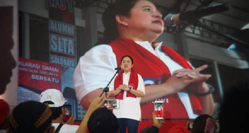 Raup Suara Terbanyak di Solo, Puan Maharani Lolos ke Senayan