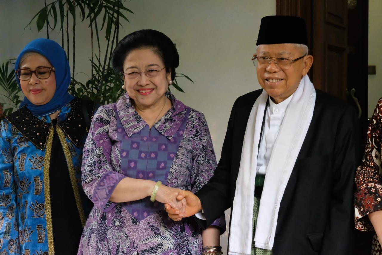 Kiai Ma'ruf Amin Temui Megawati Soekarnoputri