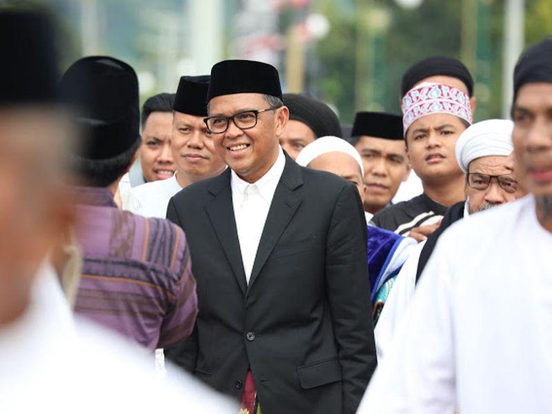 Gubernur Nurdin Buka Bersama dengan Unsur Pers