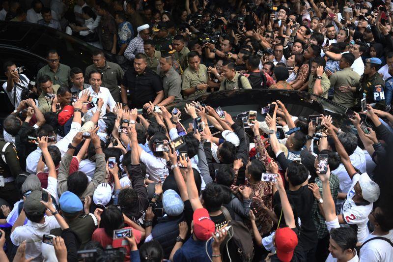 Jokowi-Ma'ruf Unggul di Kalimantan Barat