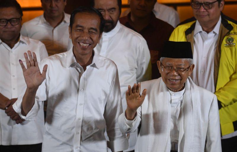 Jokowi-Ma'ruf Dinilai Miliki Kedewasaan Berpolitik