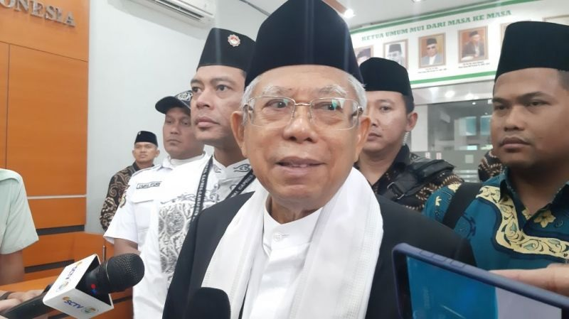 Kiai Ma'ruf: Zaken Kabinet Diisi Kader Parpol Profesional