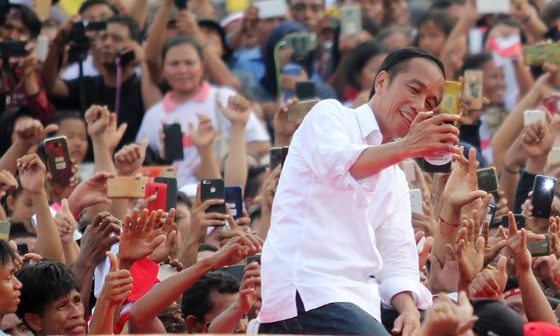 Data 668.632 TPS Masuk, Jokowi Raup 70,8 Juta Suara