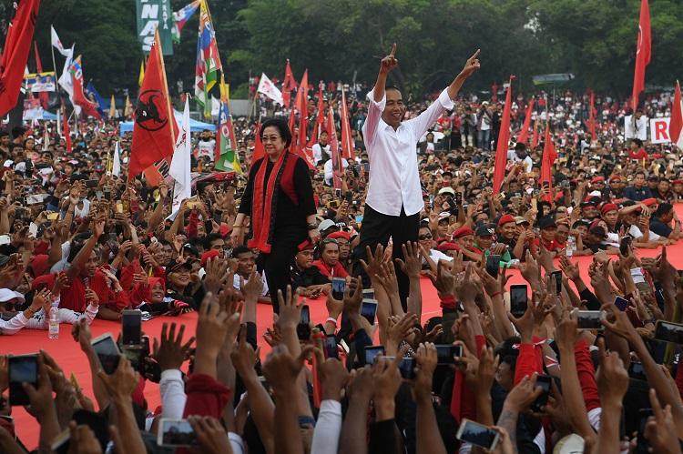 KPU: Jokowi-Ma'ruf Menang di 35 Kabupaten/ Kota di Jateng