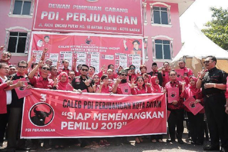 PDI Perjuangan Rebut Suara Terbanyak di Pileg Kepri