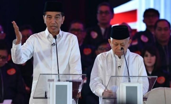 Jokowi-Kiai Ma'ruf Menang Mutlak di Kota Jayapura