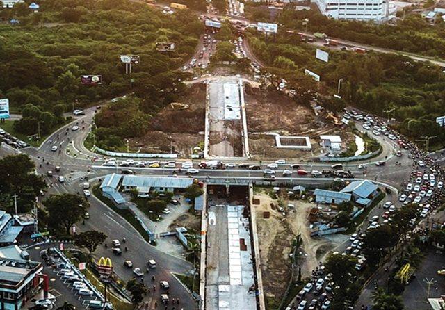 31 Mei, Risma Resmikan 'Underpass' Bunderan Satelit