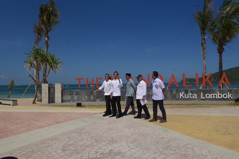 Jokowi: Pembangunan Mandalika Gunakan Standar Tinggi