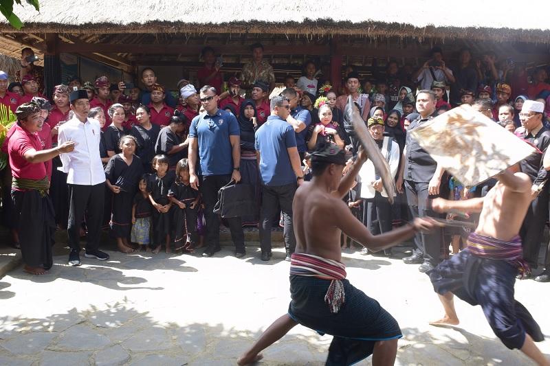 Dari Lombok, Presiden Lanjutkan Kunjungan Kerja ke Bali