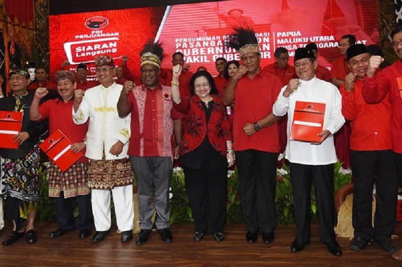 Rekapitulasi KPU: PDI Perjuangan Unggul di Papua Barat