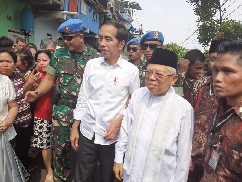 Jokowi Apresiasi Langkah Prabowo-Sandi Gugat ke MK