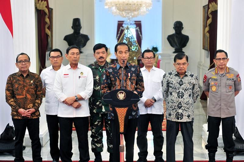 Jokowi Tegaskan Tak Tolerir Pada Penganggu Keamanan