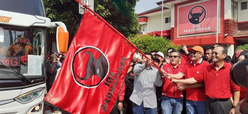 Total 12 Ribu Orang Ikut Mudik Lebaran PDI Perjuangan