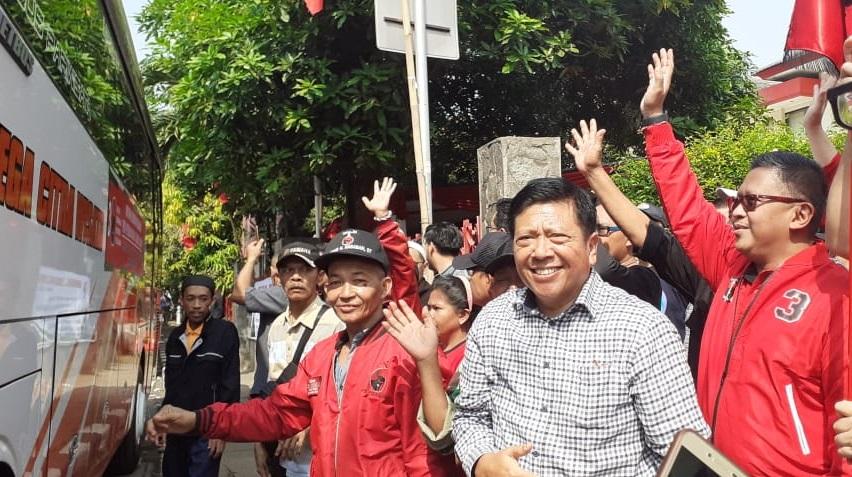 DPP PDI Perjuangan Lenteng Agung Jadi Terminal Mudik Dadakan