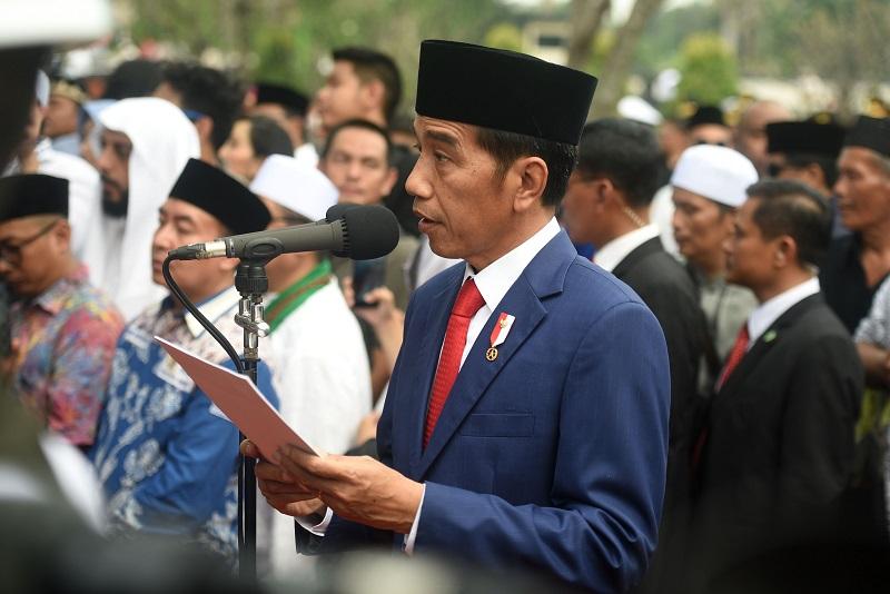 Penghormatan Terakhir, Jokowi: Flamboyan Itu Telah Pergi