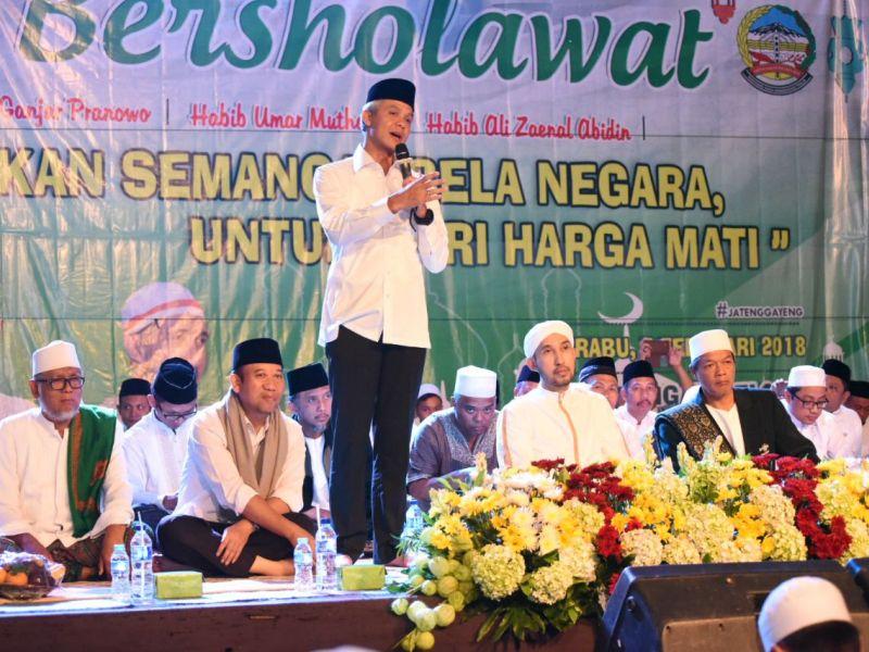 Ganjar Dijadwalkan Salat Idul Fitri di Purwokerto