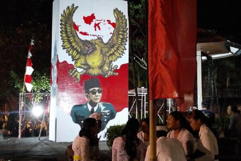 Gubernur Koster Rayakan Harlah Bung Karno di Denpasar