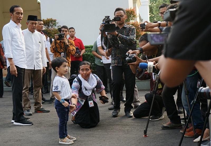 Presiden Liburan di Malioboro, Warga Yogyakarta Histeris