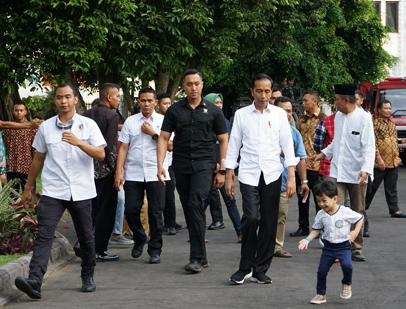Keseruan Liburan Presiden Jokowi dan Keluarga di Yogyakarta