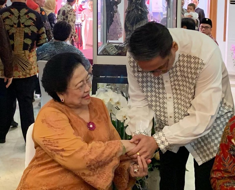 Silaturahmi AHY, Putra: Jangan Dimaknai Hanya Urusan Kabinet
