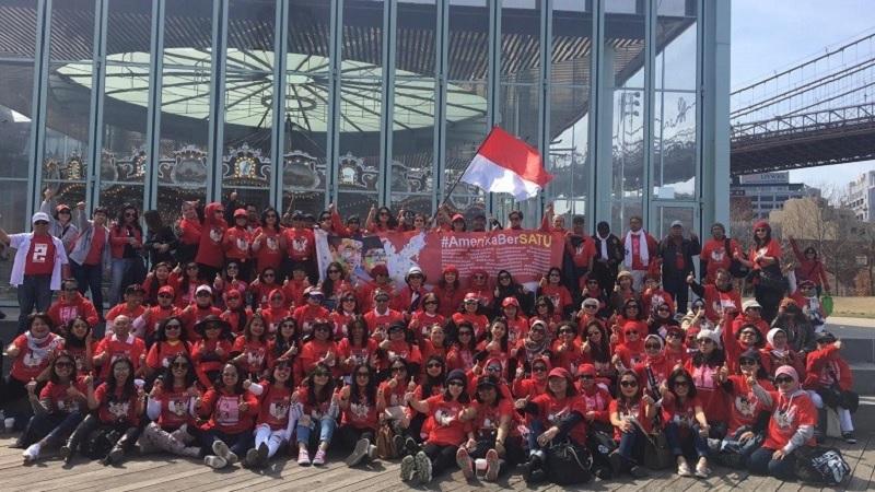 Relawan Jokowi-Ma'ruf di Amerika Bersatu Bentuk Kepengurusan