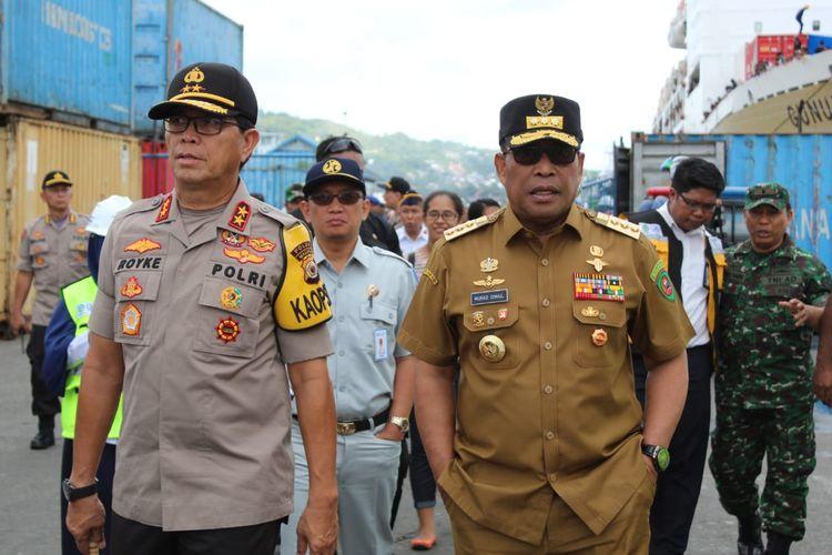 Murad Minta Dukungan Ketua Fraksi DPRD Maluku