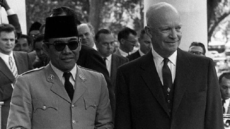 Sukarno Memesona di Kongres AS Gedung Putih