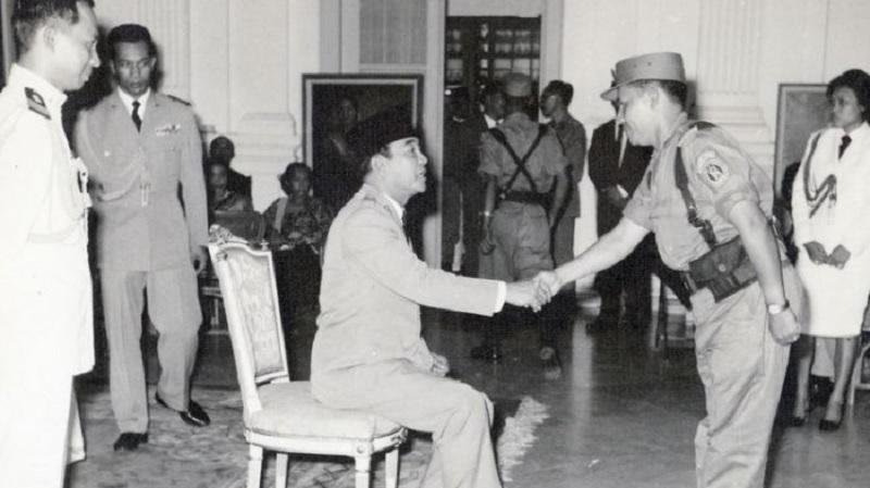 Sejarah Paspampres di Indonesia, Perisai Terakhir Soekarno