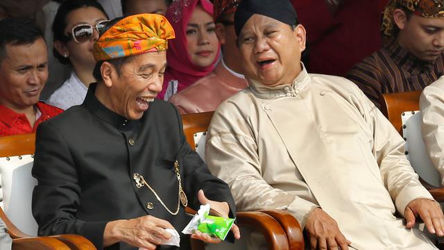 Jokowi Beri Lampu Hijau Rekonsiliasi dengan Prabowo