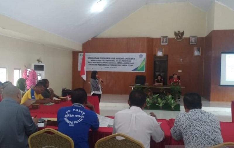 Pemprov Sulut Jamin Kecelakaan Kerja Bagi Sopir Angkot