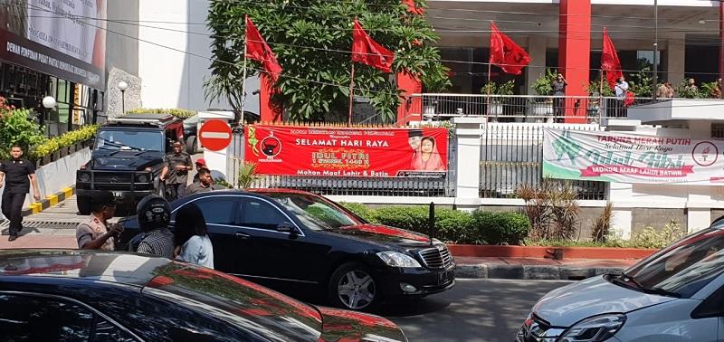 Tertutup, Jokowi Hadir 3 Jam di Rakernas IV PDI Perjuangan