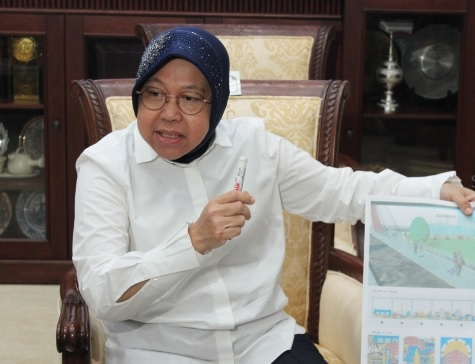 Ara: Risma Bisa Maju di Pilkada Jakarta 2022 Lawan Anies