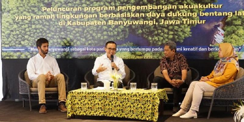 Banyuwangi Siap Produksi Besar Udang Ramah Lingkungan