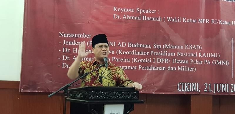Ahmad Basarah Ungkap Andil Besar Bung Karno Bagi TNI