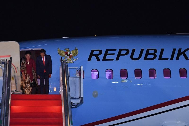 Didampingi Ibu Iriana, Presiden Jokowi Hadiri KTT G20