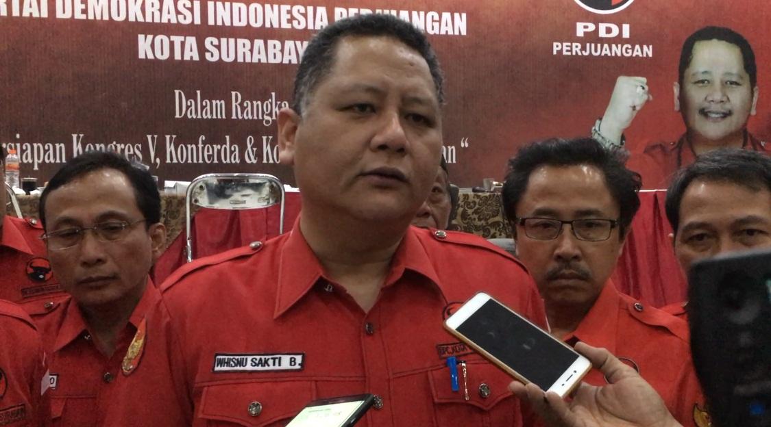 Whisnu Calon Tunggal Ketua DPC PDI Perjuangan Kota Surabaya