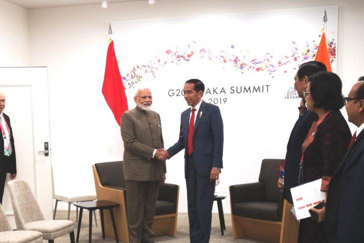 Presiden Jokowi Ajak India Tingkatkan Kerja Sama