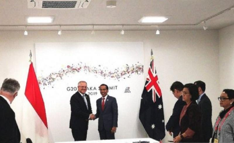 Jokowi Sampaikan Kajian ASEAN Indo-Pasifik ke Australia